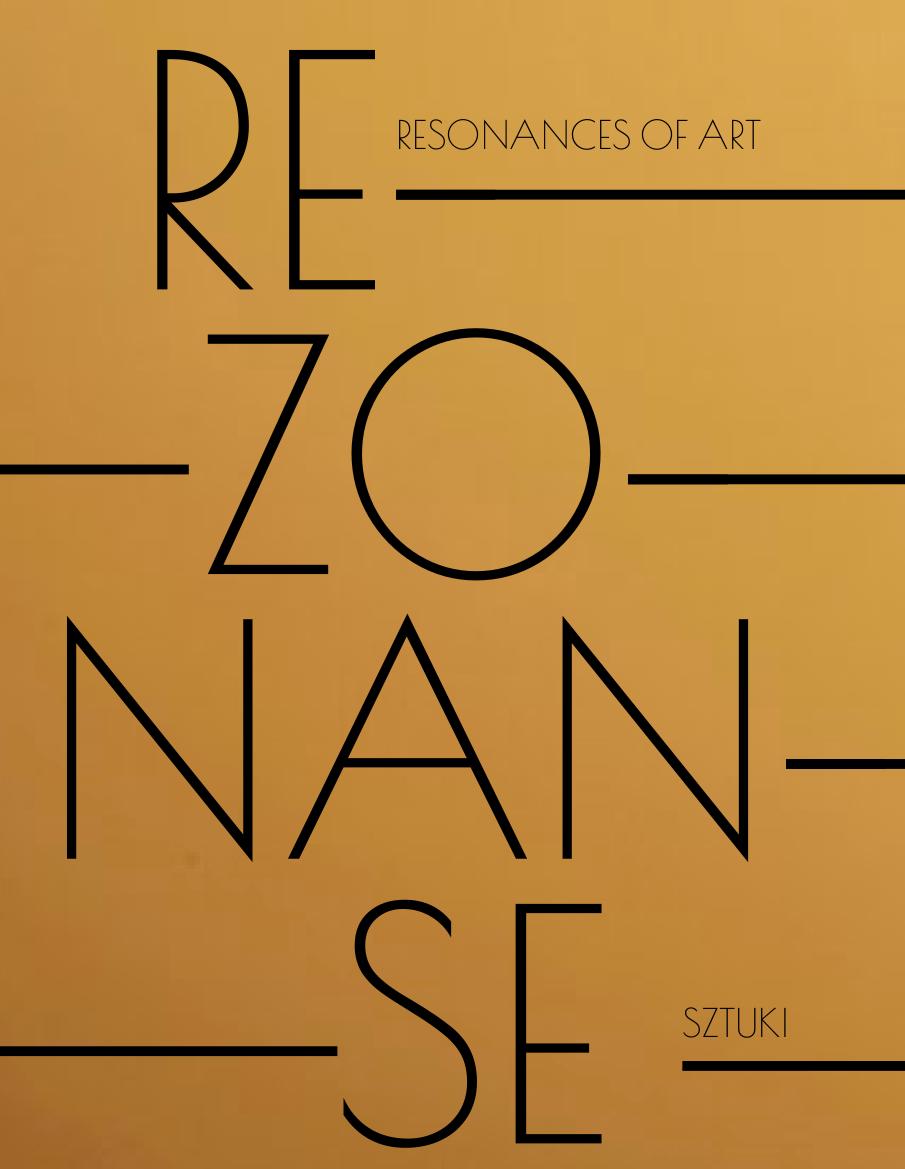 Rezonanse sztuki - katalog
